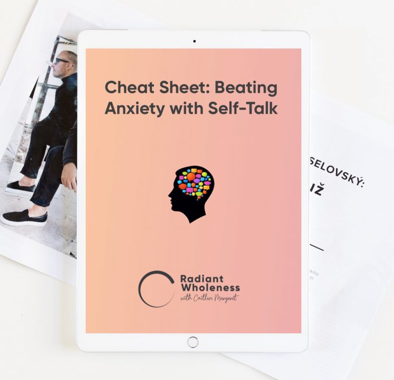 BEATING ANXIETY SELF-TALK